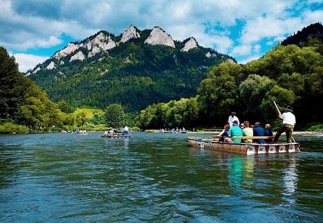 Dunajec rafting tour